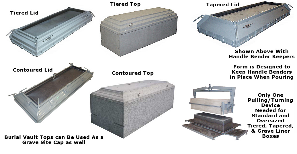 Concrete Burial Vaults & Concrete Forms | Molds of Bethlehem