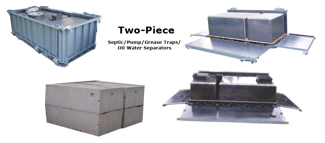 Concrete Septic Tanks - Septic Tank Forms for Sale | Molds