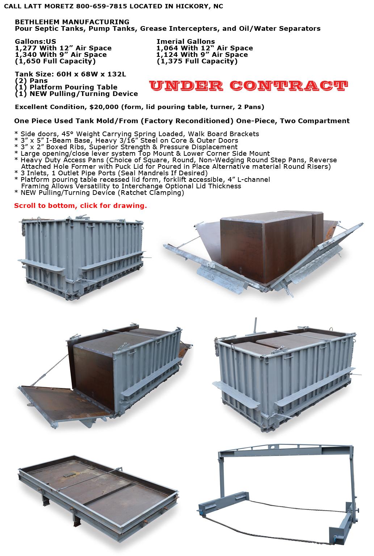 Used Equipment For Sale | Bethlehem Mfg